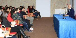 Nafi Güral, Boğaziçi Üniversitesi öğrencileriyle buluştu