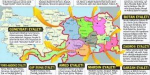PKK'nın yeni haritası… Niyetleri Türkiye'yi paramparça etmek