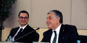 """Başkan Genç, İTÜ'de """"Kariyer Planları"""" paneline katıldı"""