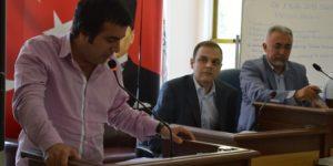 AKP Hristiyanı işten attı. AKP MÜ.Hüseyin Çoşgun Sarıyerde CHP'den sordu!