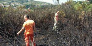 Sarıyer Zümrütevler'de yangın