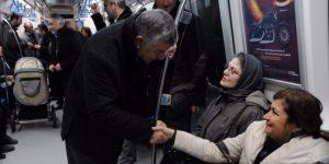 Şükrü Genç, Sabah Metro'da Çalışanları Yolcu Etti