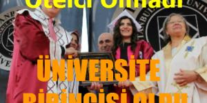Sarıyerli Kübra Yılmaz, Aydın Üniversitesi Birincisi Oldu.