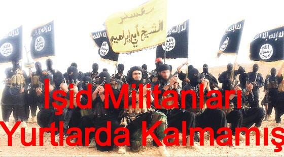 İsid militanları