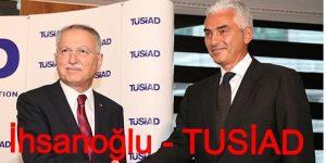 Prof. Dr. Ekmeleddin İhsanoğlu TÜSİAD Ziyareti