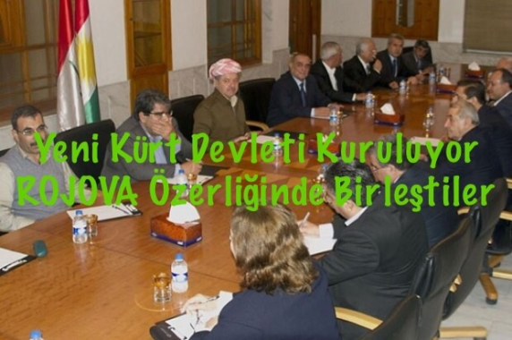Barzani Onayladı, Suriyede Yeni Kürt Devleti Kuruluyor
