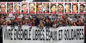 Uluslararası Yürüyüş, Bugün Her Yer Paris