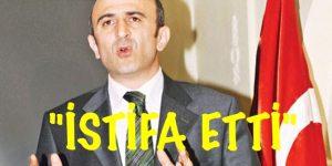 Ömer Faruk Eminağaoğlu görevinden istifa etti.