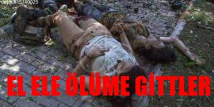 Suruç Katliamında EL ELE ÖLÜME GİTTİLER