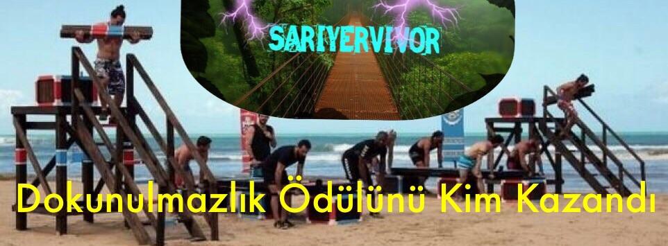 """""""SARIYERVIVOR"""" Dokunulmazlık Ödülünü Kim Kazandı.."""