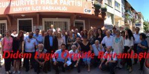 CHP Sarıyer ve Mv. Didem Engin Örgütle Bayramlaştı
