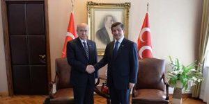 Davutoğlu, Devlet Bahçeli Görüşmesi Başladı.