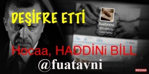 """"""" Fuat Avni Açıkladı"""" HOCA SEN KENDİ İŞİNE BAK, HADDİNİ BİL.."""