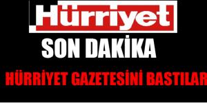 """""""TÜRKİYE NEREYE GİDİYOR"""" HÜRRİYET GAZETESİNİ 100 KİŞİ BASTI"""