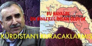 SİLAH BIRAKMAYACAKLAR, KÜRDİSTAN'I KURACAKLARMIŞ
