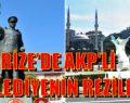 """RİZE'DE AKP'Lİ BELEDİYENİN ÖNERİSİ """"ATATÜRK HEYKELİ YERİNE ÇAY BARDAĞI"""""""