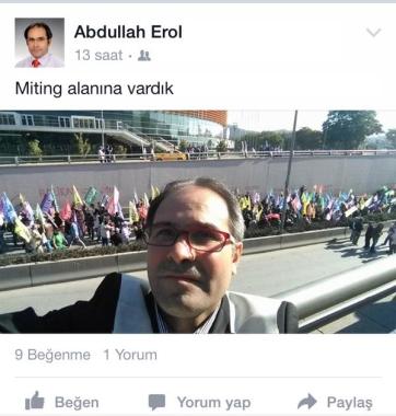 Abdullah Erol- HDP Giresun Millet Vekili Adayı