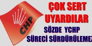 """ESKİ MİLLET VEKİLLERİ """"SÖZDE YCHP YAPILANMASI SÜRDÜRÜLEMEZ"""""""