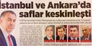 İSTANBUL'DA SAFLAR KESKİNLEŞTİ