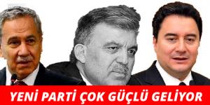 AKP CEPHESİNDE YENİ PARTİ ÇOK GÜÇLÜ GELİYOR