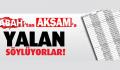 """""""REZİL OLDULAR"""" Yandaş Medya  Gülünç Duruma Düştü"""