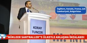 BEŞ ÜLKEYLE NÜKLEER SANTRALLER ZİRVESİ'NDE ANLAŞMA İMZALANDI