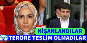 """SÜMEYYE VE SELÇUK TERÖRE TESLİM OLMADI """"NİŞANLANDILAR"""