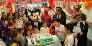 23 Nisan Çocuk Bayramını Çocuk Hastalarımızla Kutladık