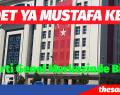 AKP Genel Merkezinde ilkler yaşanıyor.