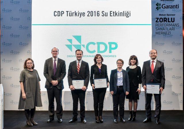 CDP Türkiye 2016 Su Programı Raporu Açıklandı