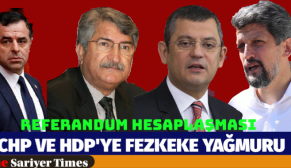 CHP VE HDP'YE FEZLEKE YAĞMURU