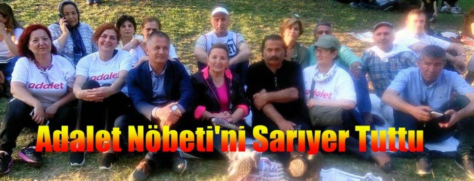 CHP SARIYER ADALET NÖBETİNDE