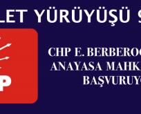CHP Enis Berberoğlu İçin Anayasa Mahkemesine Gidiyor