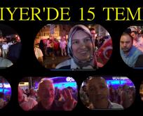 """SARIYER'DE 15 TEMMUZ """" ONLAR CANLI YAYINDA KONUŞTU"""""""