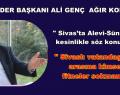 SASİDER BAŞKANI ALİ GENÇ SERT AÇIKLAMA