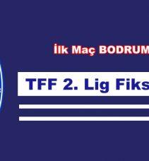 TFF 2.LİG FİSKTÜRÜ  ÇEKİLDİ