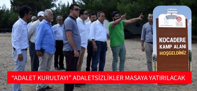 """ADALET KURULTAYI"" ADALETSİZLİKLER MASAYA YATIRILACAK"