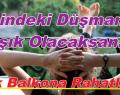 İçindeki Düşmana Aşık Olacaksan, Çık Balkona Rahatla