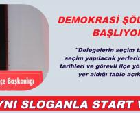 SARIYER'DE CHP DELEGE SEÇİMLERİ TAKVİMİ AÇIKLANDI