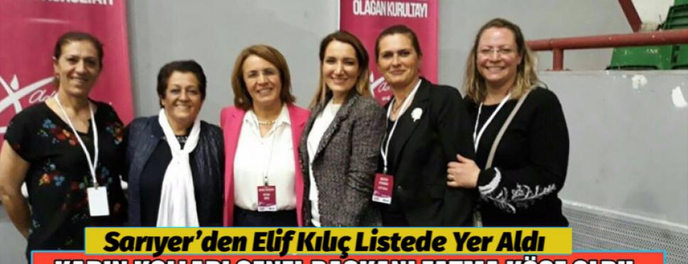 CHP'DE KADIN KOLLARI BAŞKANI BELLİ OLDU