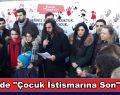 CHP Çocuk İstismarına Son Eylemi Gerçekleştirdi