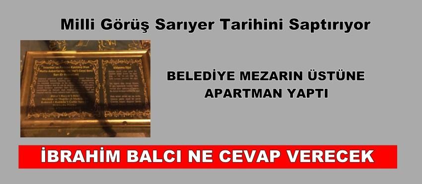 SARIYER TARİHİNİ SAPTIRIYORLAR
