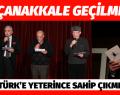ATATÜRK'E YETERİNCE SAHİP ÇIKMIYORUZ