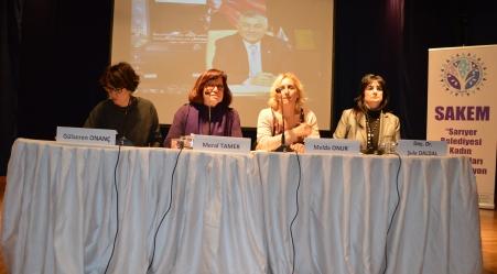 """Sarıyer'de """"Kadın Ve Siyaset"""" Paneline Siyasiler Kadınları Göndermediler."""