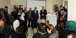 Başkan Genç, FSM Sagem'de velilerle buluştu