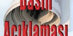 Bayrak olayı ve basın açıklaması! Ali Kemaller Yayınlamadı..