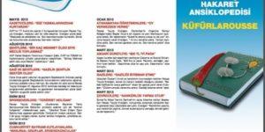 CHP, AKP'nin hakaretlerini ansiklopedi yaptı