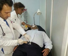 TAKSİM'de Sezgin Tanrıkulu Hastaneye kaldırıldı
