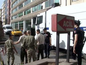"""""""Savaşıyormuyuz""""Polisten askere 'gazlı' tehdit"""