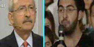 Kılıçdaroğlu Cevap veremedi.